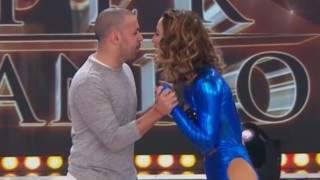 """Flor Vigna y Mati Napp blanquearon su relación en el piso del Bailando: """"Nos despedimos con un beso"""""""