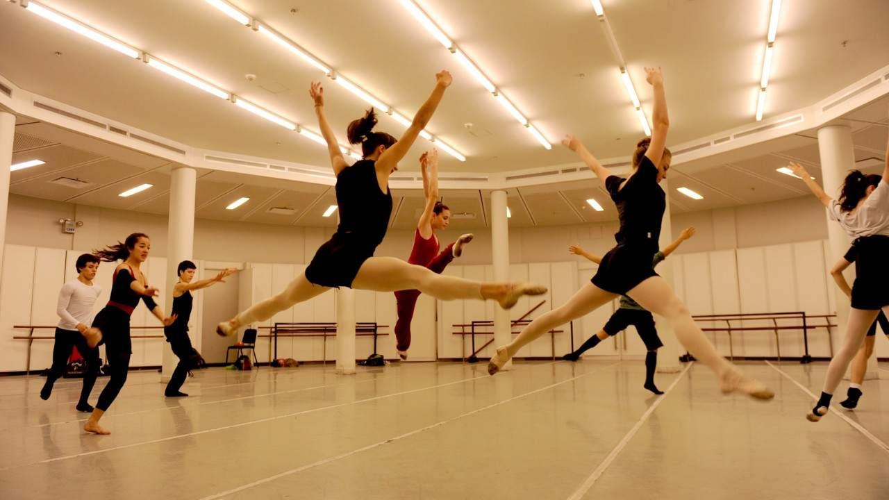 Te 3 bailarinas para adelgazar