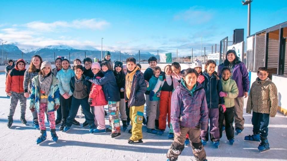 Iniciaron Las Colonias De Invierno En Ushuaia Vía Ushuaia