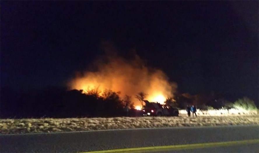 Resultado de imagen para Controlaron el incendio forestal en Villa Larca