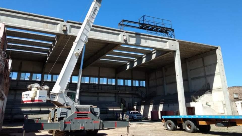Cómo están las obras en el nuevo estadio de Atenas - Vía País