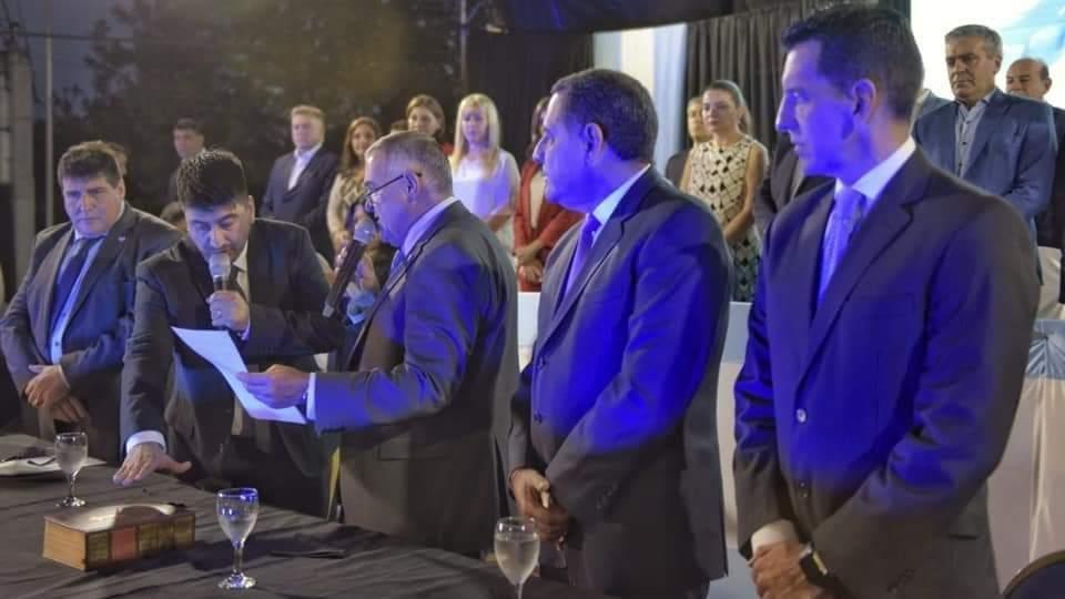En Bella Vista juró como intendente Jorge Sebastian Salazar - Vía País