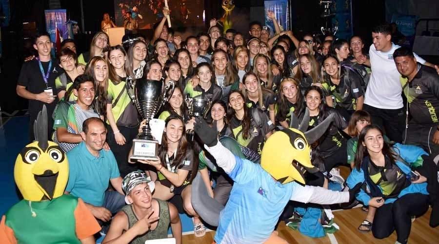 Finalizaron en el Club Estudiantes de Santa Rosa los Juegos de la Araucanía 2019 - Vía País