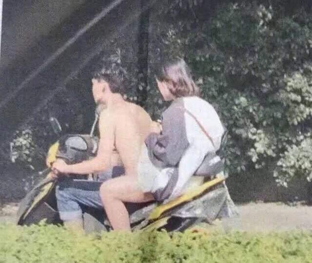 Desnudo En La Moto El Viral Que Hizo Estallar Internet Vía País
