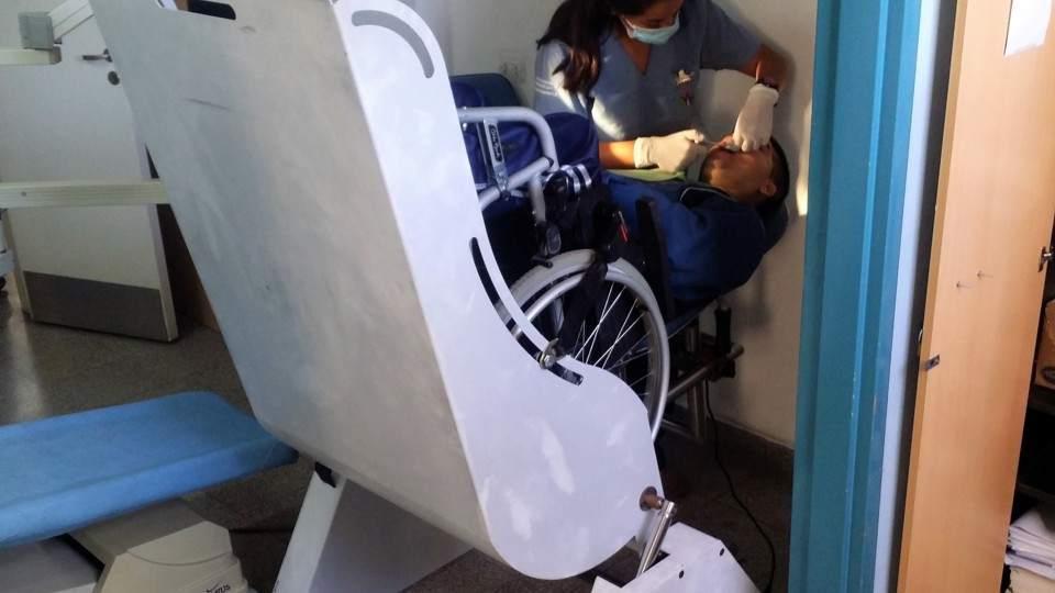 En Un Una Cordobés De Para Silla Pacientes Desarrolló Plataforma qGSMzVUp