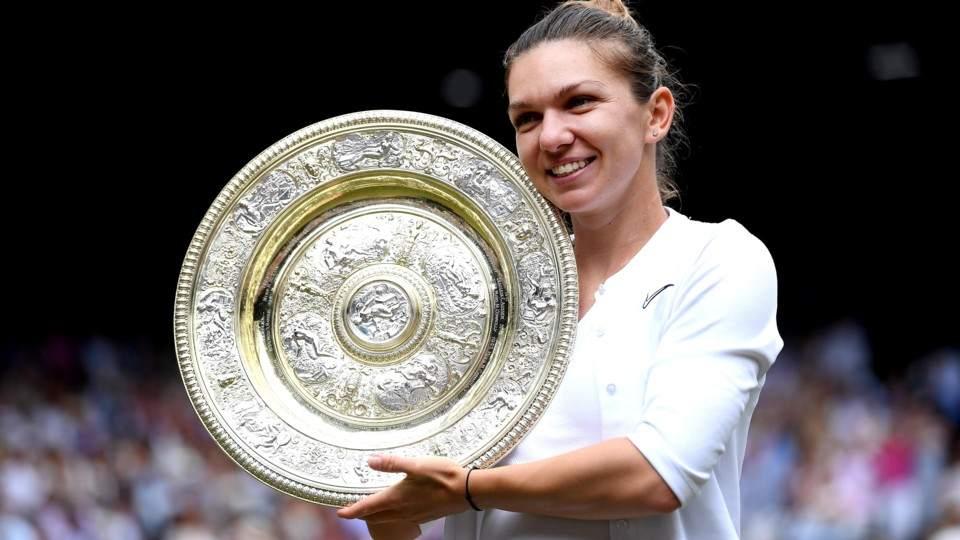 Simona Halep Campeona En Wimbledon Vía País