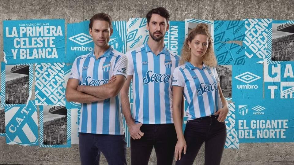 30b8dcc68a37 Atlético Tucumán presentó su nueva camiseta para la próxima ...