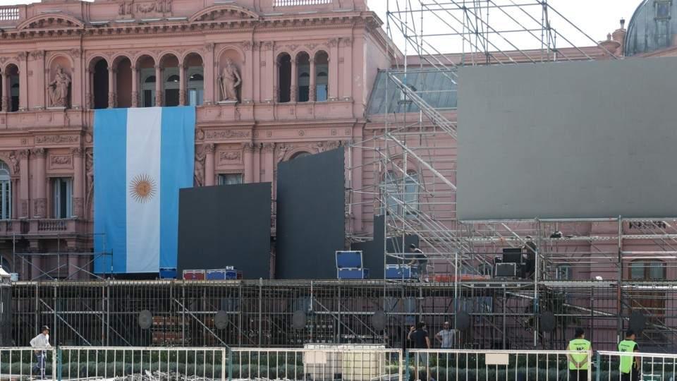 Los artistas que serán parte de la fiesta de asunción de Alberto Fernández en Plaza de Mayo