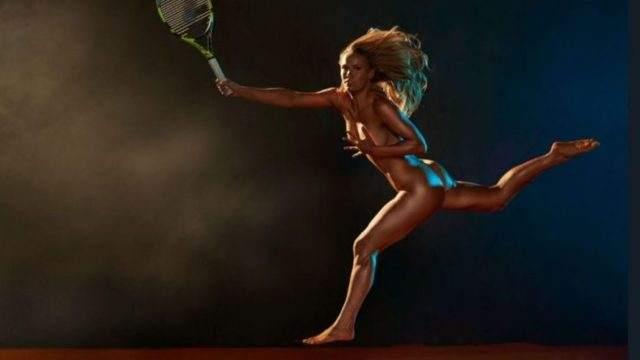 Infartante El Desnudo Total De La Tenista Caroline Wozniacki Vía País