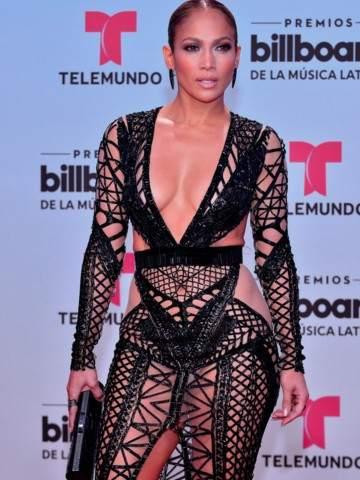 El Impresionante Vestido De Jennifer López Que Dejó A Todos