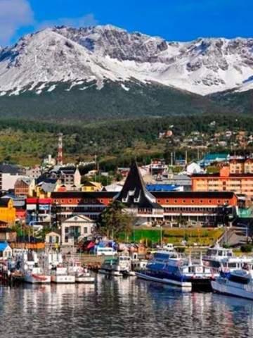 Ushuaia transmite al mundo imágenes de la ciudad en vivo a