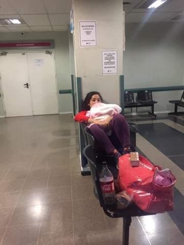 La joven que fue detenida tras parir, demandará al hospital