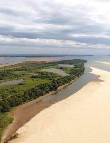 La preocupante bajada histórica del Río Paraná afecta el ...